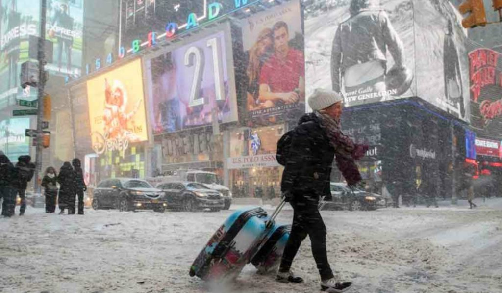 Another Winter Storm Set to Hit NYC Tomorrow