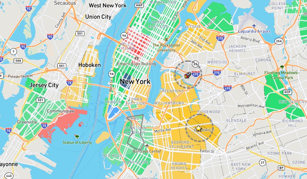 This Interactive Map Redefines NYC Neighborhoods With Categories Voted On By NYers