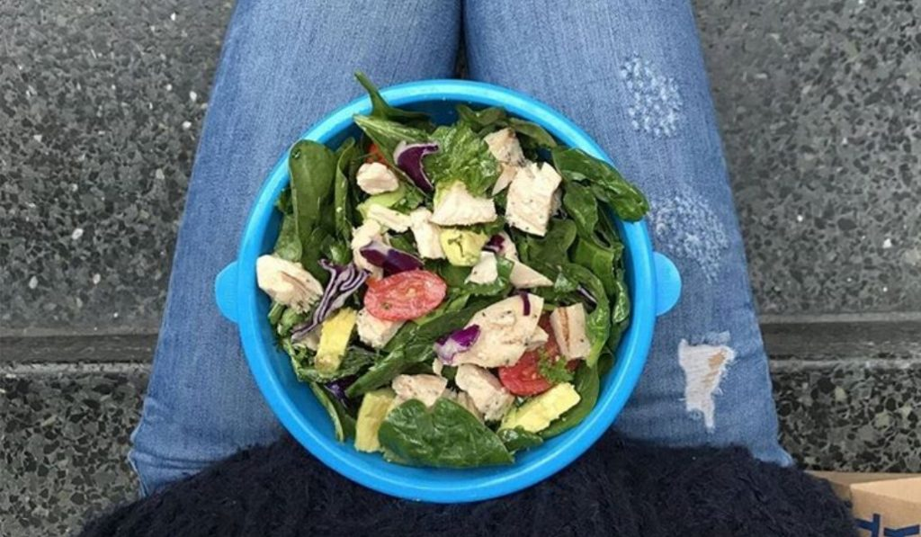 These Sustainable Salad Bowls Are The Trendiest Way To Lunch In NYC