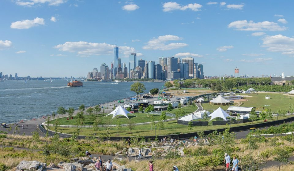 Outdoor Ice Skating Rink Opens This Summer on Governor's Island
