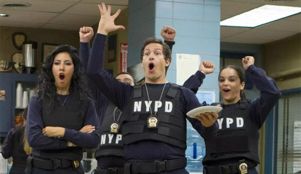 NBC Picks Up 'Brooklyn Nine-Nine' and the Squad is Freaking Out Over It!