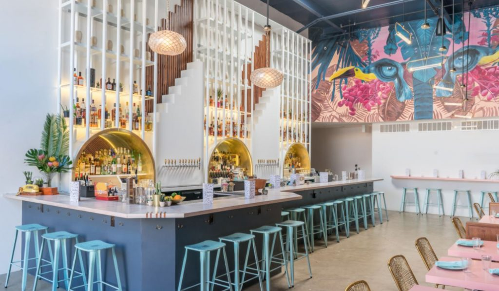This New Tropical Inspired Restaurant Has Us Wishing For Summer Already