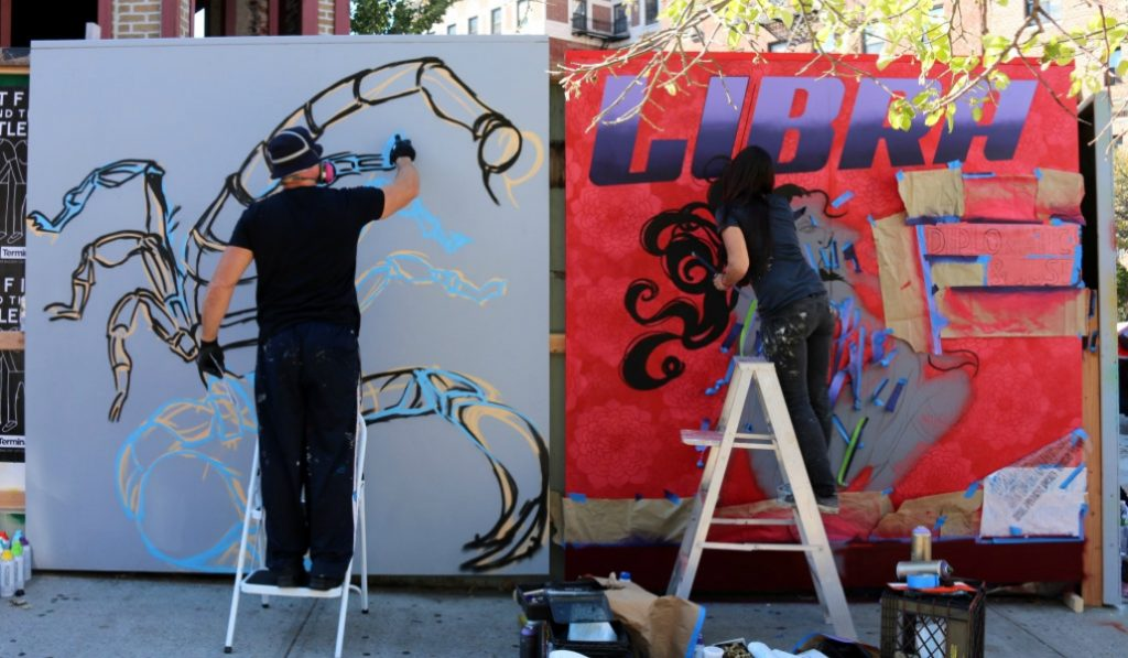 Get Your Hands Dirty At This Free Mural Painting Experience In Brooklyn