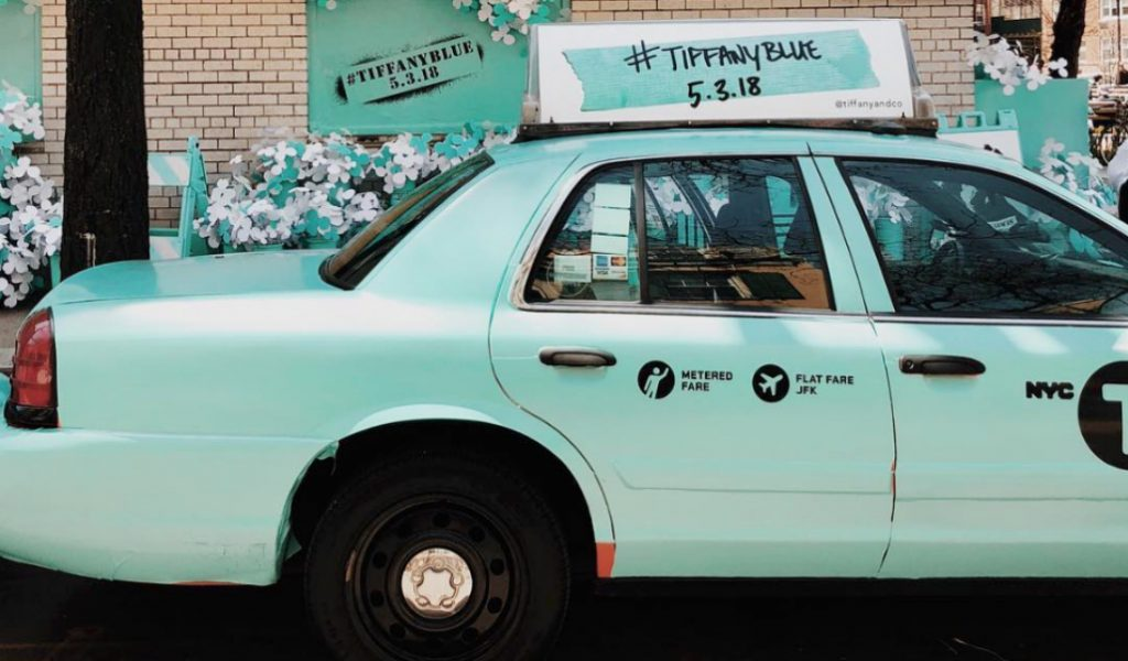 Tiffany & Co. is Turning NYC Streets Their Iconic Shade of Blue!