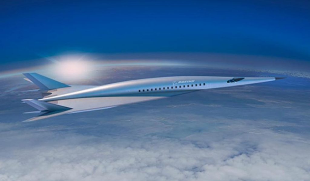 London To New York In Just Two Hours? This New Boeing Concept Plane Could Make It A Reality