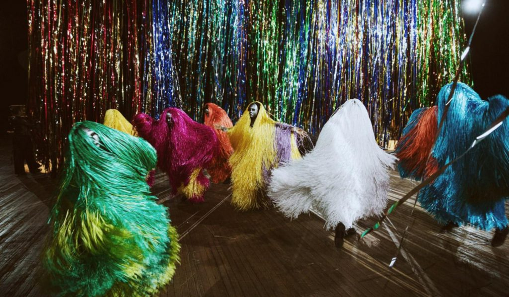 Check Out This Colorful Dance Performance At The Park Avenue Armory