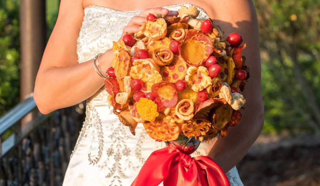 A NYC Pizza Shop Is Now Offering Pizza Bouquets For Weddings