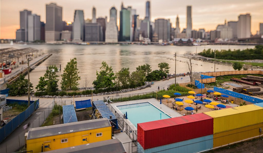 Plans Are In The Works For A Permanent Brooklyn Bridge Park Pool