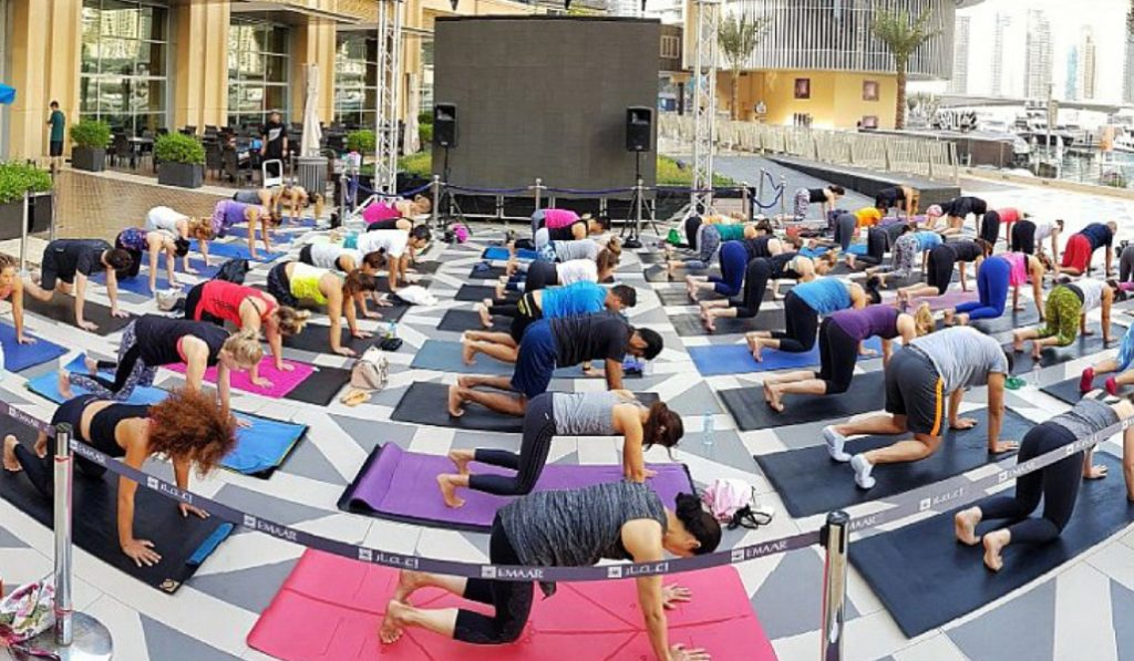 Find Your Zen Before Work At This Free Yoga Class