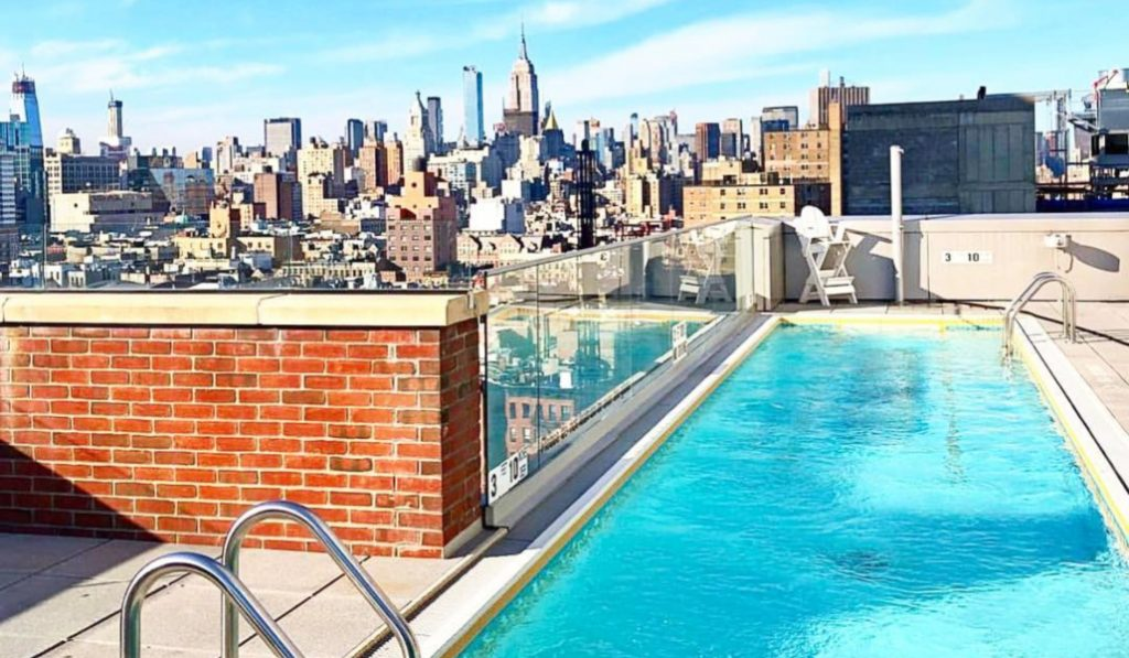Take A Dip Into One Of The City's 11 Most Extra Swimming Pools