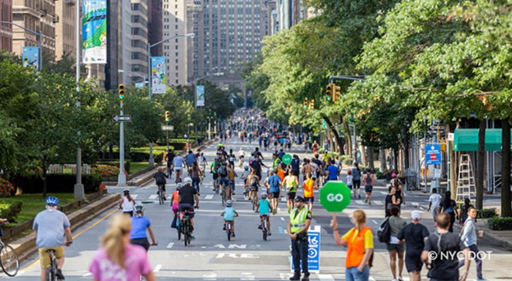 Enjoy Park Avenue, Car Free, For The Last Weekend Of Summer Streets
