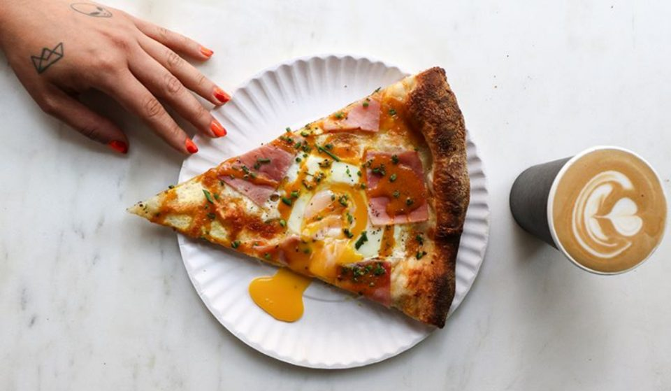 This Pizza Joint Specializes In Pizza And Espresso For Breakfast