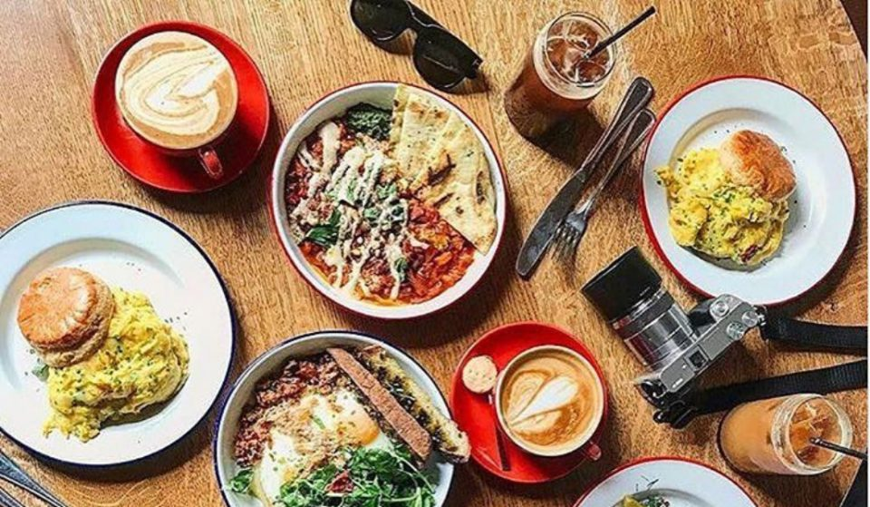 This Modern Coffee Shop Serves Breakfasts and Sandwiches To Start Your Day Off Right