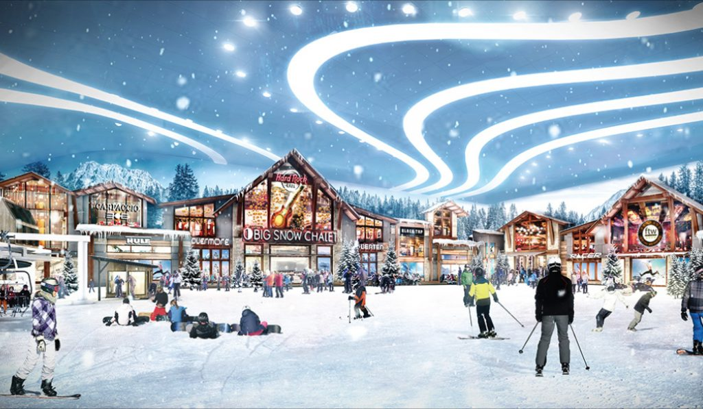An Enormous Indoor Ski Slope Is Opening Near MetLife Stadium This Spring