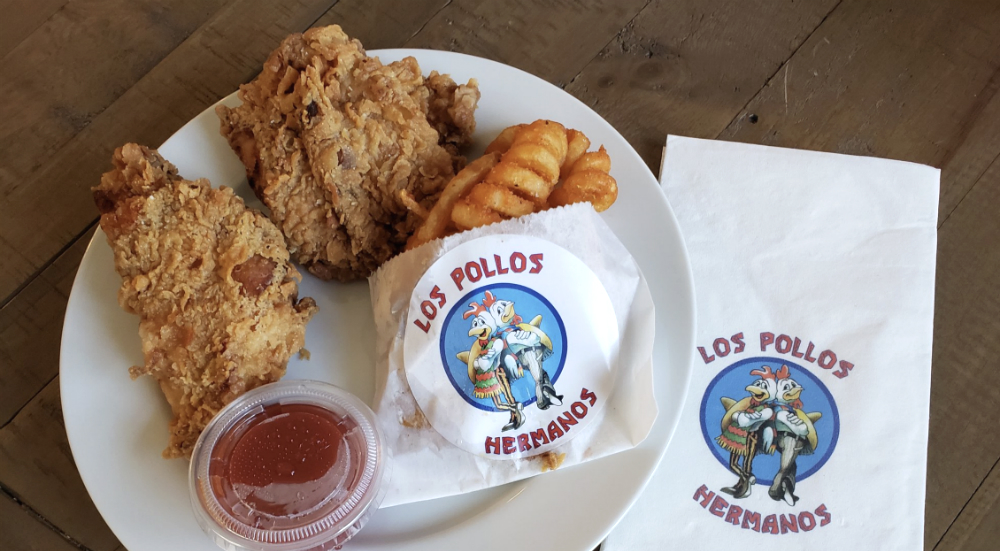 """NYC's """"Breaking Bad"""" Fans Can Get Free Fried Chicken Delivery From Los Pollos Hermanos"""