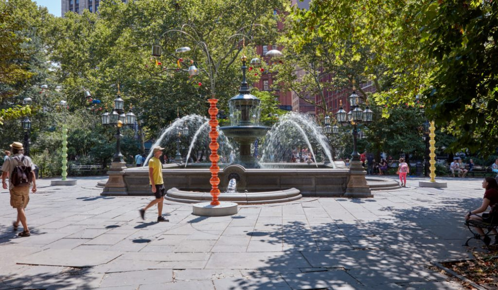 The Public Art Fund Has Unveiled A Whimsical 5 Part Installation In City Hall Park