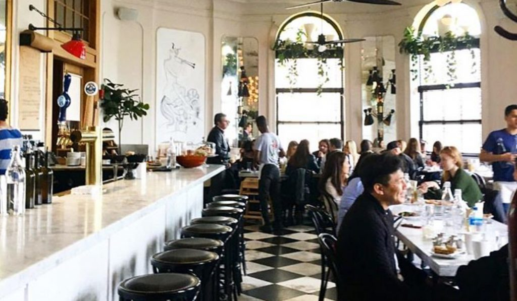 Meal Time At This NYC Hot Spot Is A Feast For Your Stomach And Your Eyes