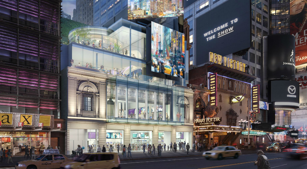 Two Historic Theaters in Times Square to Reopen With Massive Renovations
