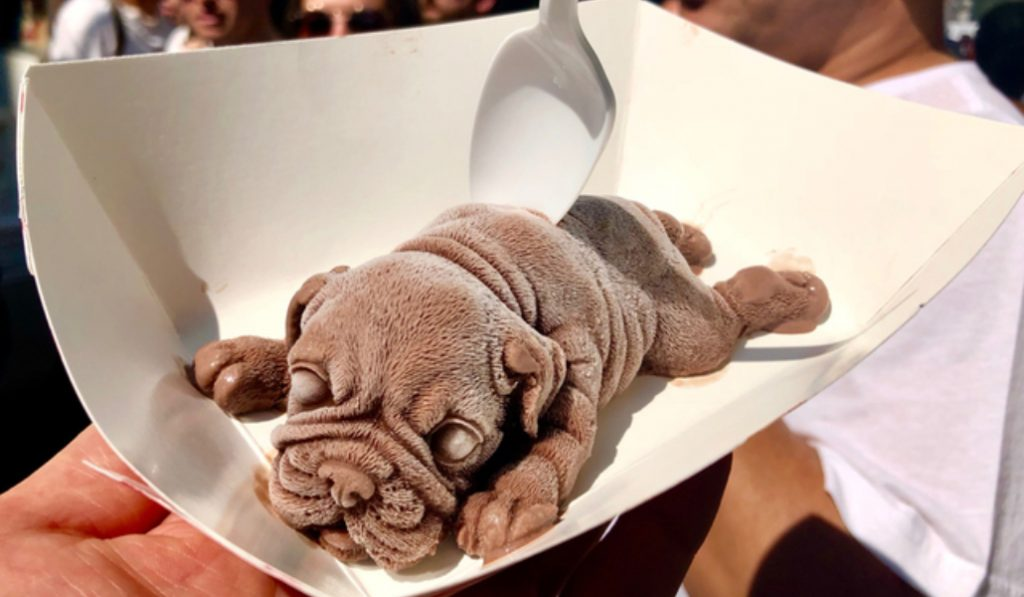 Try One Of These Totally Realistic Dog Ice Creams At The San Gennaro Festival