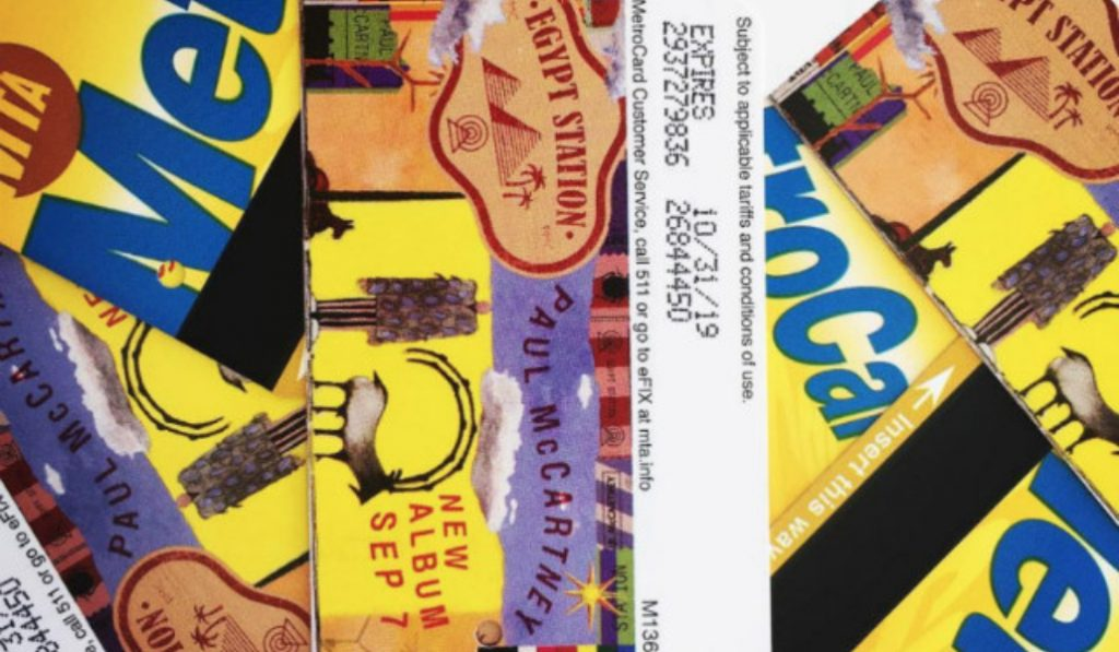 Get Your Limited Edition, Paul McCartney MetroCard Before They're All Gone
