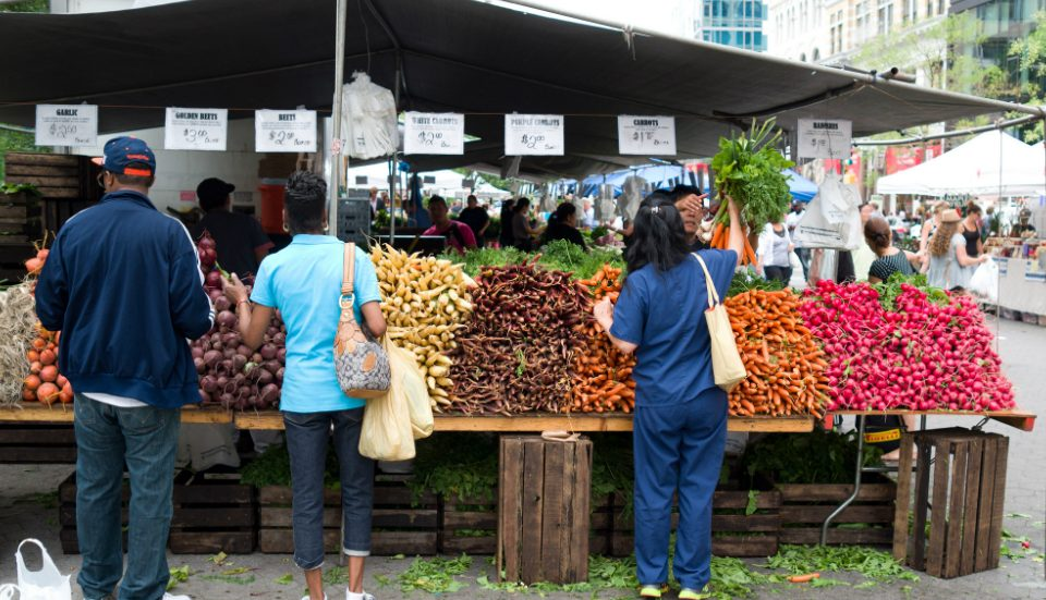Check Out Union Square's Vibrant Greenmarket This Week