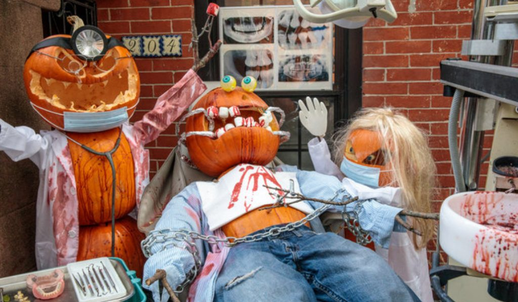 This Halloween Display In Brooklyn Takes The Prize For The Most Outrageous Yet
