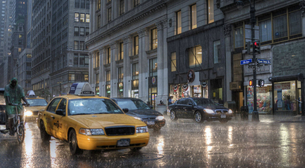 Nor'easter to Hit NYC This Weekend, Making it the First Storm of the Season