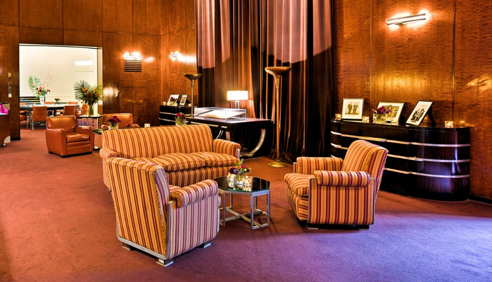 Hidden Inside Radio City Music Hall is a Secret Art Deco Apartment From the 1930s