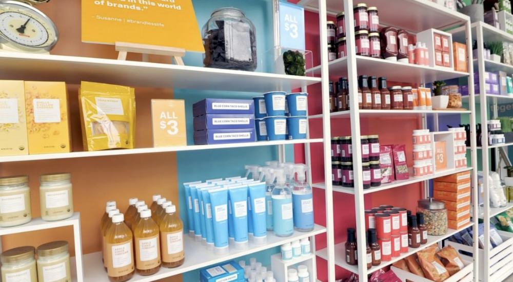 NYC Gets a Brandless Pop-Up Shop This Week Where Everything is Only $3!
