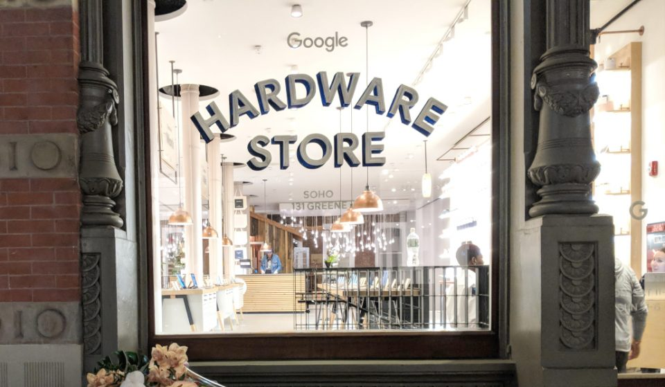 The Google Pop Up Store Is Officially Back In Soho