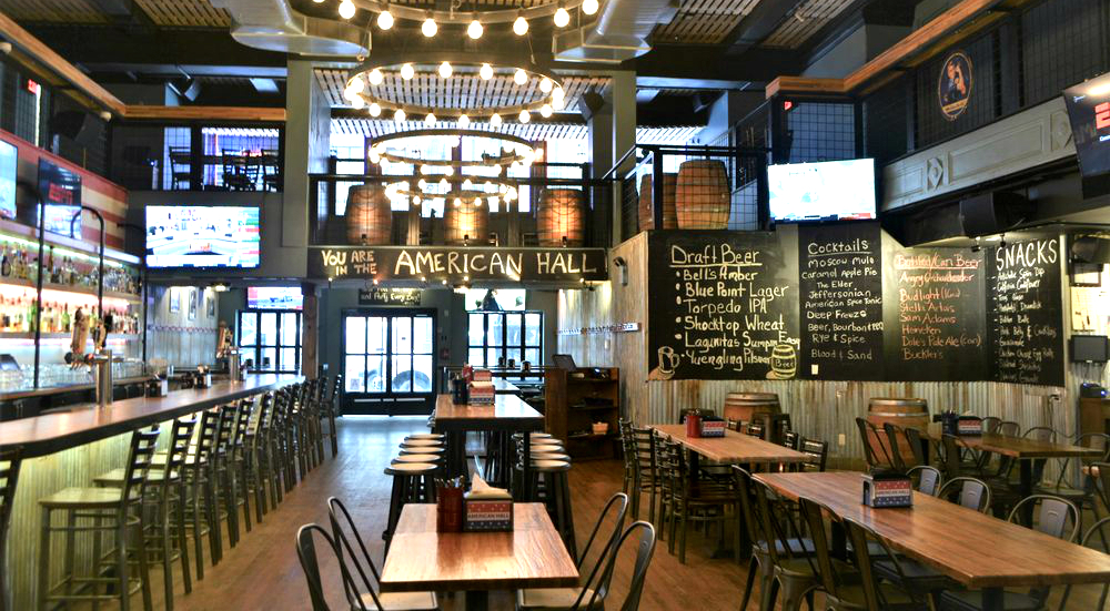 A Massive 3-Story Beer Hall and Arcade Just Opened Near Herald Square