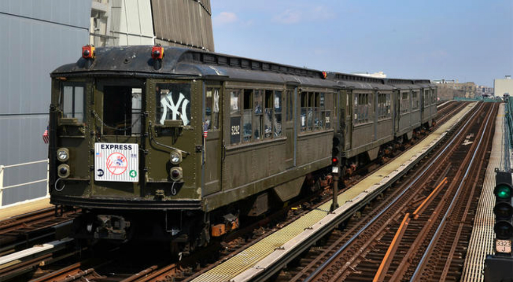 Ride a Vintage Subway Train to the Yankees Wild-Card Game Tomorrow