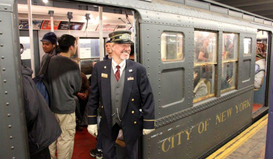 'Tis The Season To Ride NYC's Vintage Holiday Trains!