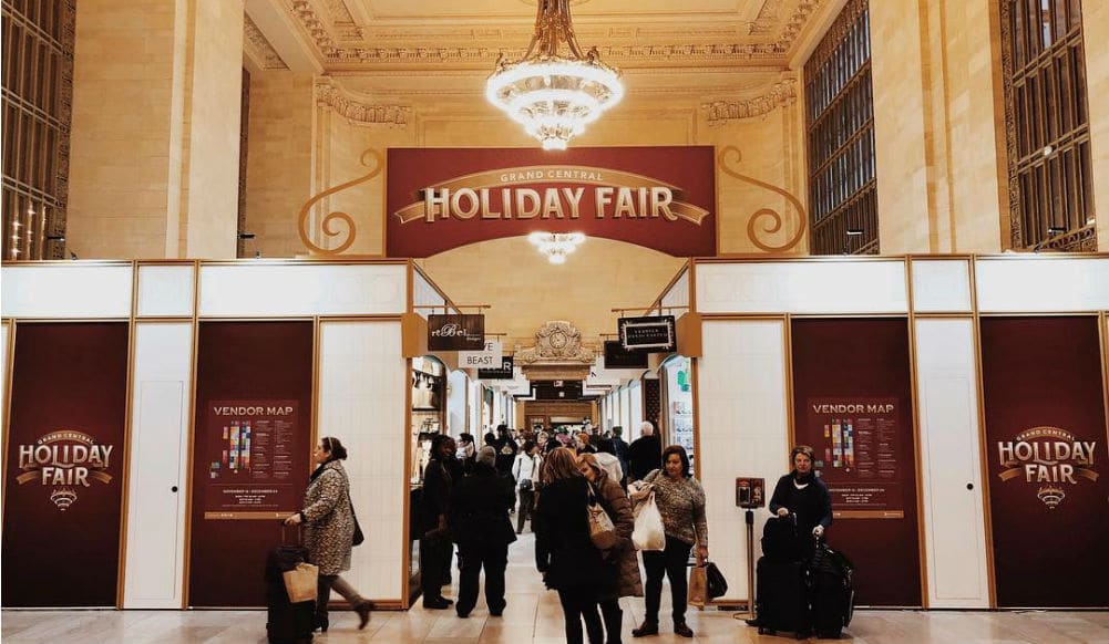 Grand Central's Festive Holiday Market Is Officially Open For The Season