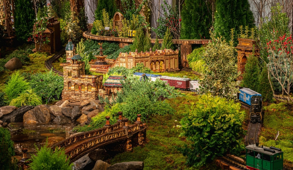 New York Botanical Garden's Stunning Holiday Train Show Is Now Open For The Season