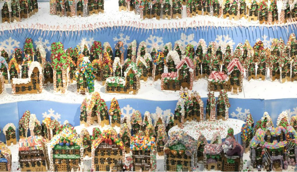 The World's Biggest Gingerbread Village Opens Tomorrow In Queens