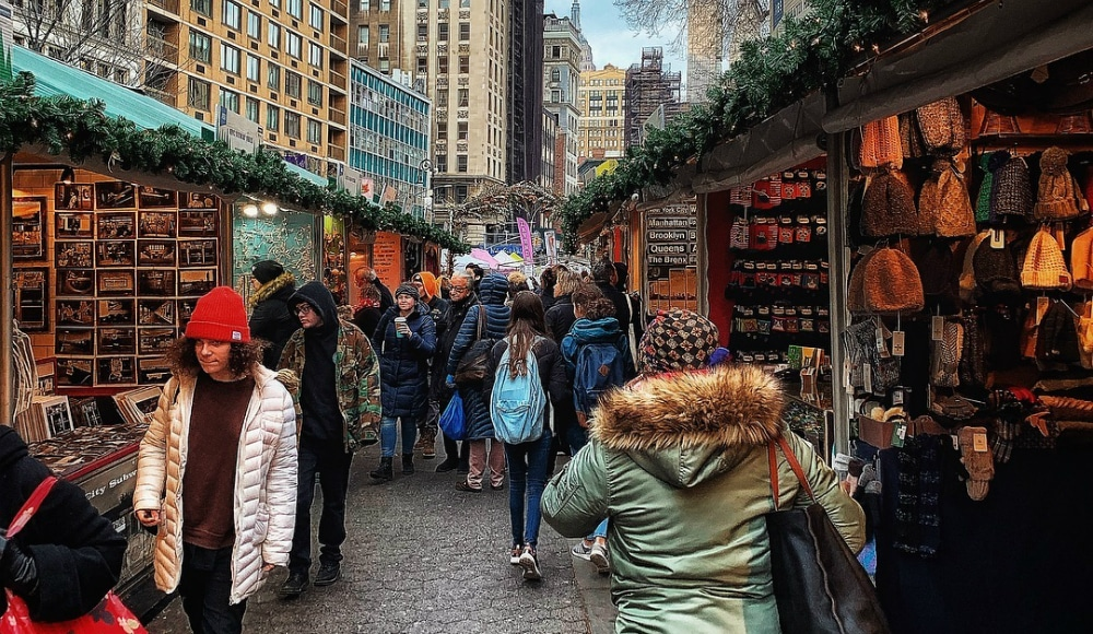 The Union Square Holiday Market Will Open Tomorrow