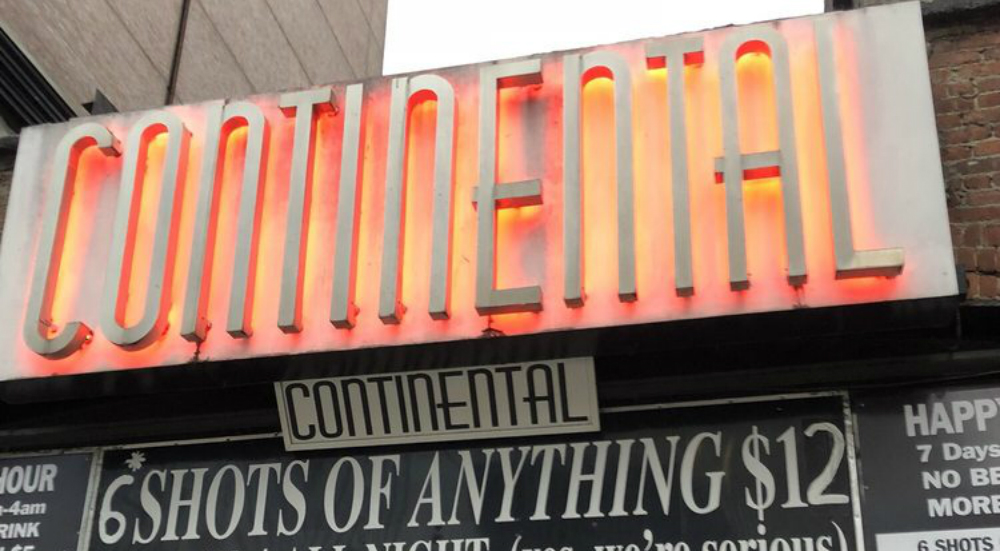 Famous Continental Bar On St. Mark's Place Finally Sets Closing Date