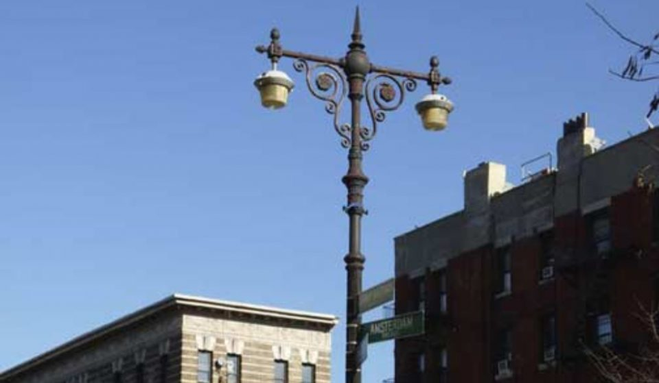 This Random Lamp Post In Harlem Has Protected Landmark Status