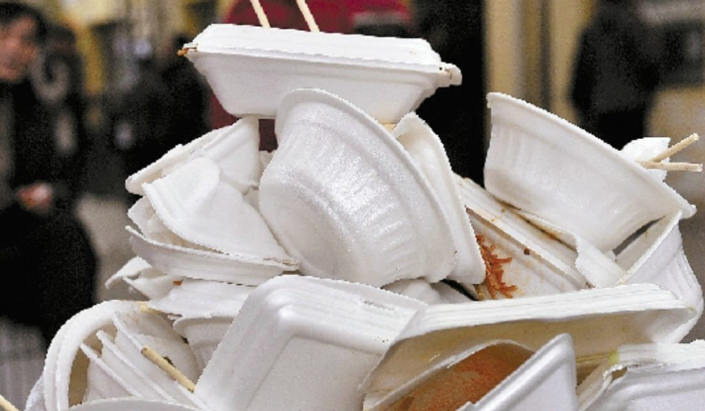 A City Wide Ban On Single-Use Foam Containers Has Gone Into Effect