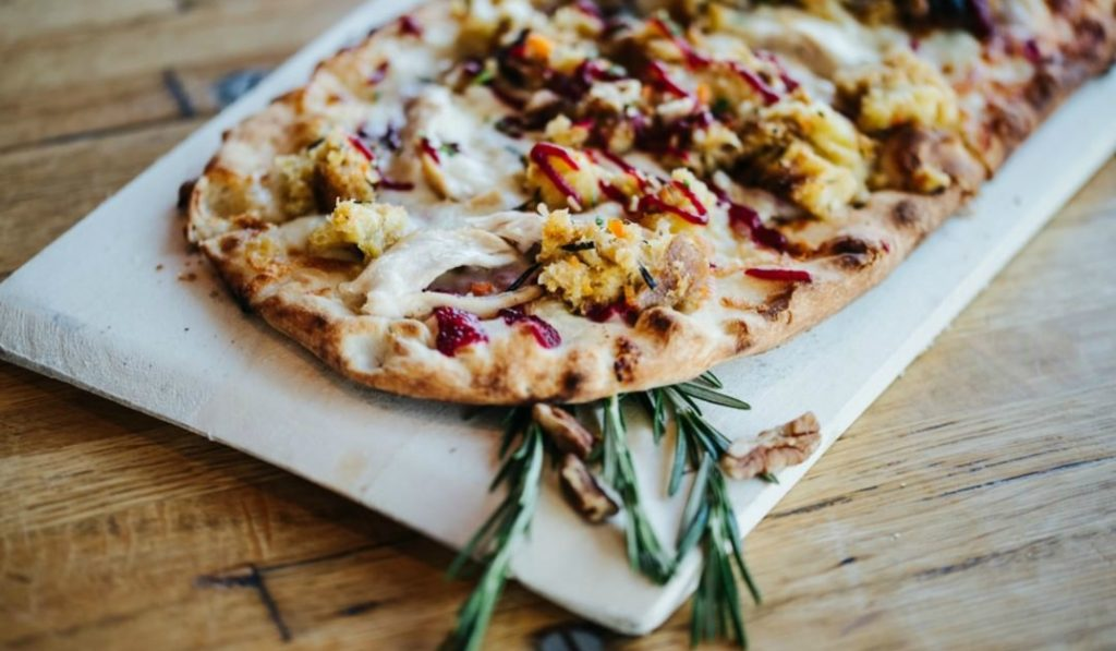 Thanksgiving Leftovers Make For The Perfect Toppings On This NYC Pizza