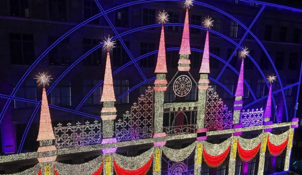 Saks 5th Avenue's Window Display Is Up Now And It's A Holiday Sight To Be Seen