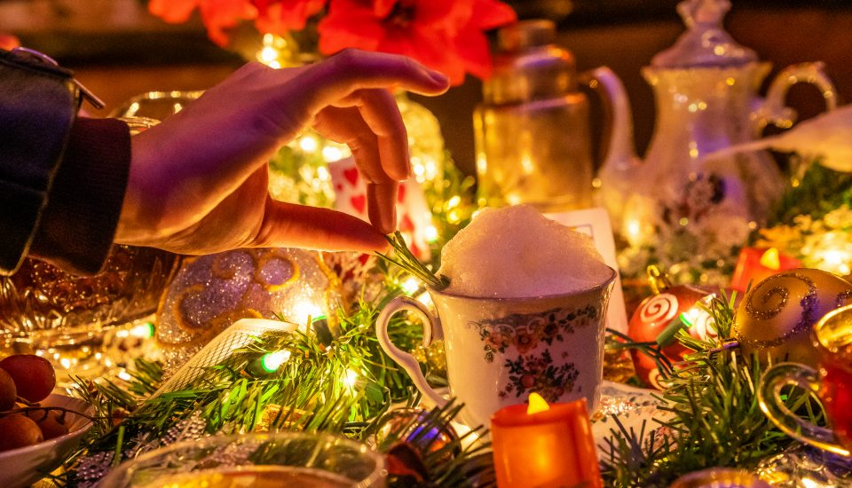 Mad Hatter's Brooklyn Tea Party Transforms Into An Enchanting Winter Wonderland