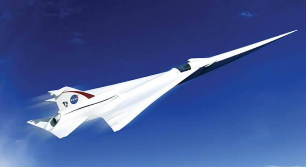NASA Begins Production On Supersonic Aircraft That Can Fly From NYC To London In 3Hrs