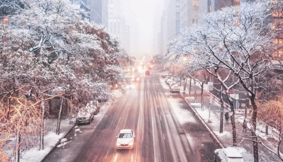Magical Photos Of The Season's First Winter Storm In NYC