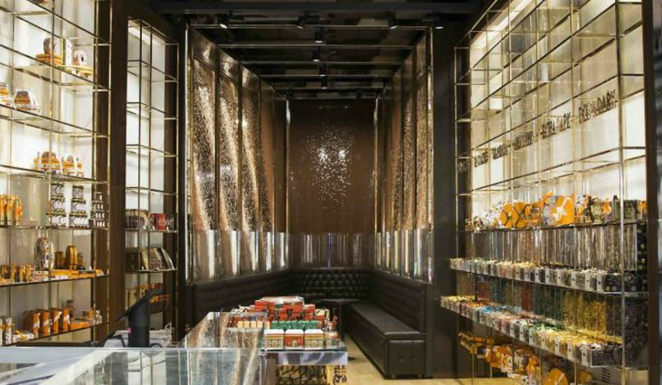 A Giant Chocolate Waterfall Is Now Flowing In Union Square