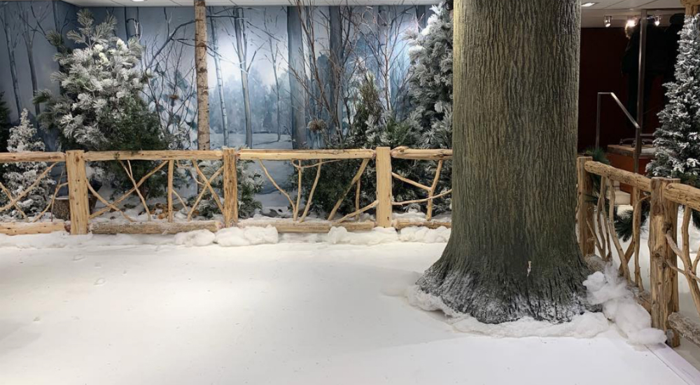 Bloomingdale's Flagship Opens Indoor Ice Rink For The Holidays
