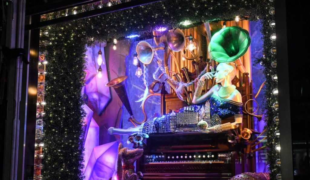 The Grinch Is Coming To Bloomingdale's This Christmas And He's Taking Over Their Holiday Window Display