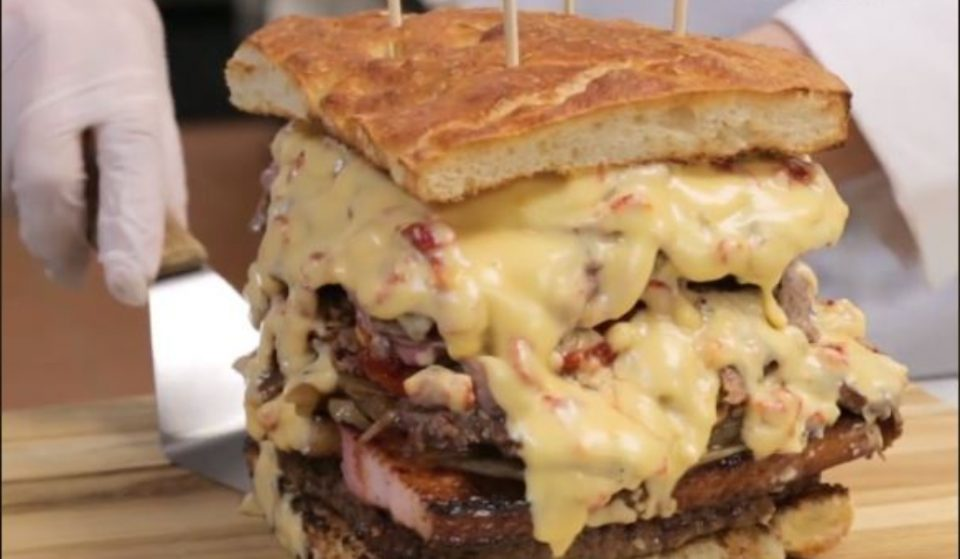 This Giant, Meat Filled Sandwich Is Available In NYC… For A Whopping $375