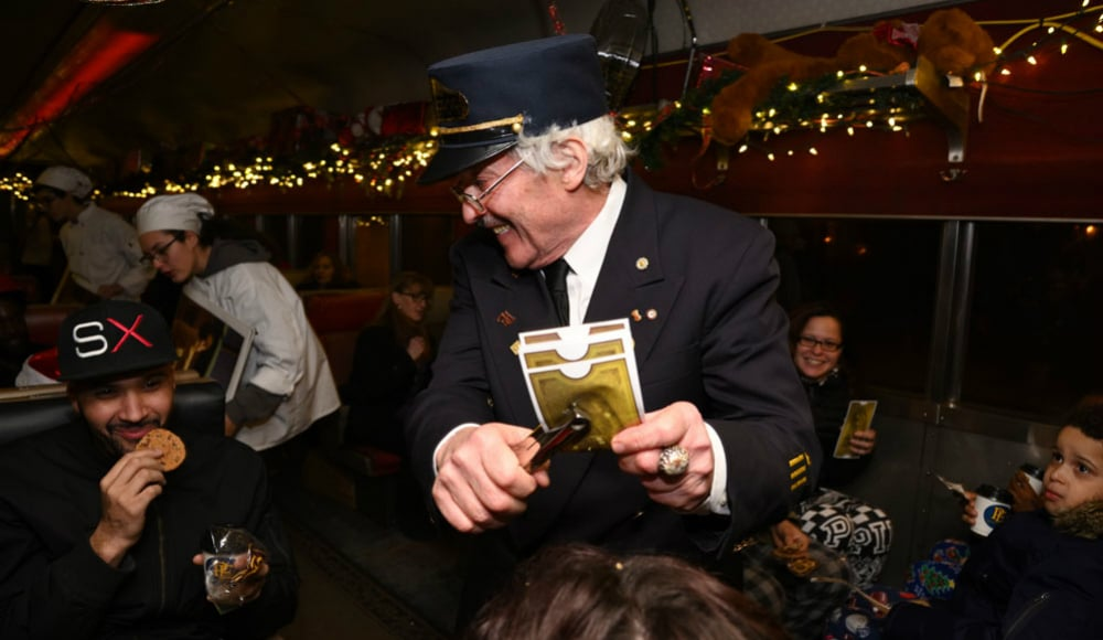 The 'Polar Express' Takes You To The North Pole Through The Scenic Catskill Mountains